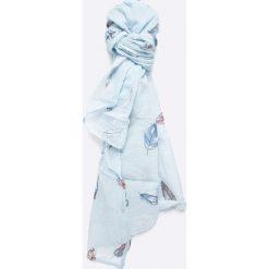Answear - Szal. Szare szaliki damskie ANSWEAR, z bawełny. W wyprzedaży za 29,90 zł.