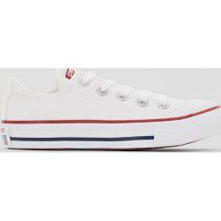 Buty sportowe CHUCK TAYLOR ALL STAR OX CANVAS. Brązowe buty sportowe chłopięce marki Converse, z kauczuku, na sznurówki. Za 209,96 zł.