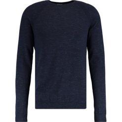 Swetry klasyczne męskie: Selected Homme BERT Sweter dark sapphire/ombe blue