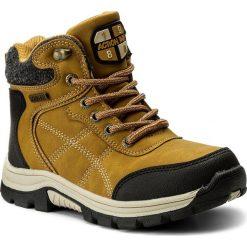 Buty zimowe chłopięce: Trapery ACTION BOY – CP07-17007-01 Miodowy