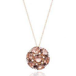 Naszyjniki damskie: Unikalny Naszyjnik – złoto różowe 750, Brązowy brylant 0,48ct…