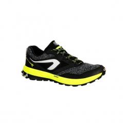 Buty do biegania KIPRUN TRAIL TR męskie. Czarne buty do biegania męskie marki KALENJI, z gumy. Za 179,99 zł.