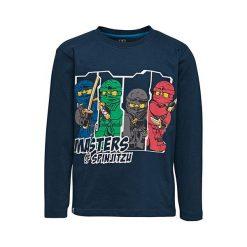 """T-shirty chłopięce z długim rękawem: Koszulka """"M-72169"""" w kolorze granatowym"""