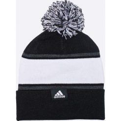 Adidas Performance - Czapka. Czarne czapki zimowe damskie marki adidas Performance, na zimę, z dzianiny. W wyprzedaży za 69,90 zł.