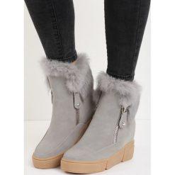 Szare Sneakersy Be a Fool. Szare buty zimowe damskie Born2be. Za 49,99 zł.