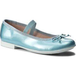 Baleriny GEOX - J Plie I J5455I 000HI C3003 Watersea. Niebieskie baleriny dziewczęce Geox, z materiału. W wyprzedaży za 149,00 zł.