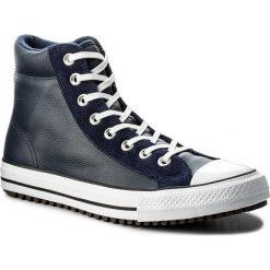 Trampki CONVERSE - Ctas Boot Pc Hi 157495C Midnight Navy/White. Niebieskie trampki męskie Converse, z gumy. W wyprzedaży za 289,00 zł.