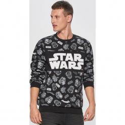 Bluza star wars - Czarny. Czarne bluzy męskie marki Cropp, l, z motywem z bajki. Za 89,99 zł.