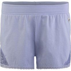 Piżamy damskie: Szorty piżamowe w kolorze błękitnym