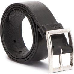 Pasek Męski JOOP! - JEANS 7509 85 10. Czarne paski męskie marki JOOP!, w paski, z jeansu. W wyprzedaży za 279,00 zł.