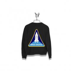 Bluza Space Shuttle Męska. Czarne bluzy męskie Failfake, m. Za 160,00 zł.