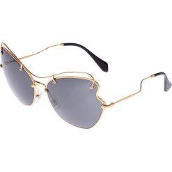 Okulary przeciwsłoneczne damskie: Miu Miu Okulary przeciwsłoneczne goldcoloured