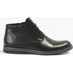 Kozaki czarne Alessandro. Czarne buty zimowe męskie Badura. Za 311,99 zł.