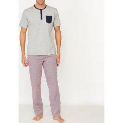 Piżamy męskie: Piżama ze spodniami w kratę
