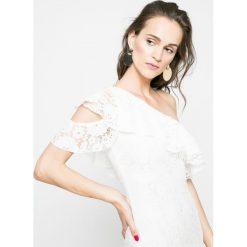 Missguided - Sukienka. Szare sukienki koronkowe marki Missguided, na co dzień, casualowe, mini, dopasowane. W wyprzedaży za 99,90 zł.
