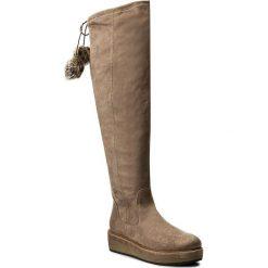 Muszkieterki TAMARIS - 1-25623-39 Pepper 324. Szare buty zimowe damskie marki Tamaris, z materiału, na sznurówki. W wyprzedaży za 229,00 zł.