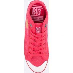 Big Star - Tenisówki. Szare tenisówki męskie BIG STAR, z gumy, na sznurówki. W wyprzedaży za 69,90 zł.