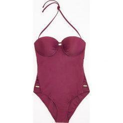 Stroje jednoczęściowe: Jednoczęściowy strój kąpielowy – Fioletowy