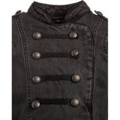 Next MILITARY Kurtka jeansowa grey. Szare kurtki chłopięce marki bonprix. W wyprzedaży za 135,20 zł.