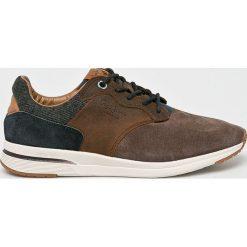 Pepe Jeans - Buty. Brązowe buty skate męskie Pepe Jeans, z jeansu. W wyprzedaży za 349,90 zł.