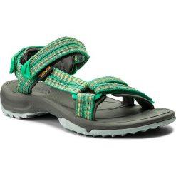 Sandały TEVA - Terra Fi Lite 1001474 Samba Fern Multi. Zielone sandały damskie Teva, z materiału. W wyprzedaży za 259,00 zł.