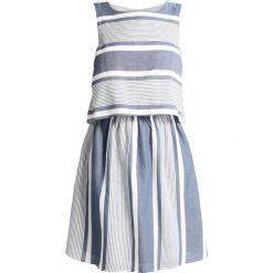 Sukienki hiszpanki: ONLY STUEVA CROSS Sukienka letnia snow white/vintage blue