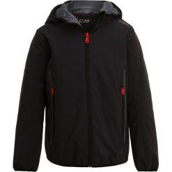 CMP BOY FIX HOOD Kurtka Softshell antracite. Szare kurtki chłopięce sportowe marki CMP, z elastanu. W wyprzedaży za 186,45 zł.