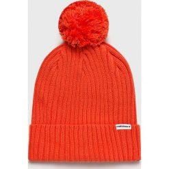 Converse - Czapka. Czerwone czapki zimowe męskie Converse, z bawełny. Za 99,90 zł.