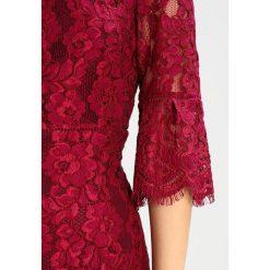 Odzież damska: Hobbs VANESSA Sukienka etui dark magenta