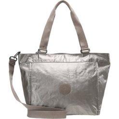 Kipling NEW SHOPPER MEDIUM Torba na zakupy metallic pewter. Żółte torebki klasyczne damskie Kipling. Za 299,00 zł.