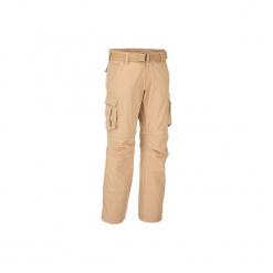 Spodnie 2 w 1 Travel 100 męskie. Brązowe spodenki i szorty męskie marki LIGNE VERNEY CARRON, m, z bawełny. Za 149,99 zł.