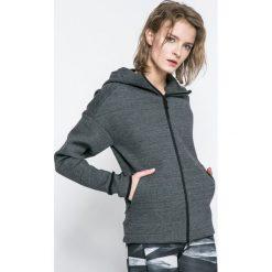 Adidas Performance - Bluza. Szare bluzy sportowe damskie marki adidas Performance, l, z bawełny, z kapturem. W wyprzedaży za 359,90 zł.