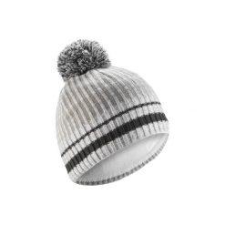 Czapka narciarska RIB. Białe czapki damskie marki WED'ZE, w kolorowe wzory, z elastanu. Za 29,99 zł.