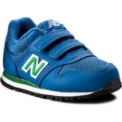 Trampki chłopięce: Sneakersy NEW BALANCE – KV500YUI  Niebieski