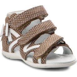 Sandały dziewczęce: Sandały BARTEK – 11707-3/1N0 Beżowy Biały