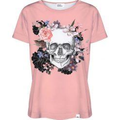 Colour Pleasure Koszulka damska CP-030 230 brzoskwiniowa r. XS/S. Pomarańczowe bluzki damskie marki Colour pleasure, s. Za 70,35 zł.