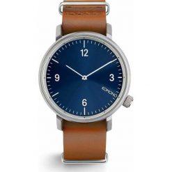 Zegarek Komono Magnus II Blue Cognac. Czarne zegarki męskie marki KIPSTA, m, z elastanu, z długim rękawem, na fitness i siłownię. Za 420,00 zł.