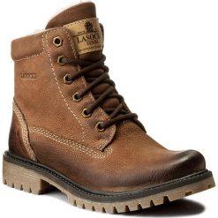 Trapery LASOCKI - WI20-ASPEN-02 Brązowy. Brązowe buty zimowe damskie Lasocki, z nubiku. Za 199,99 zł.