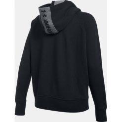 Bluzy sportowe damskie: Under Armour Bluza damska Favorite Fleece 1/2 Zip czarny r.S (1298416-001)