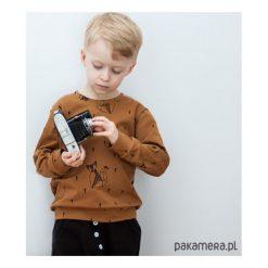 Bluzy chłopięce rozpinane: Wiosenna Bluza karmelowa w Liski