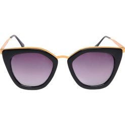 Okulary przeciwsłoneczne damskie aviatory: OKULARY PRZECIWSŁONECZNE KOCIE OCZY