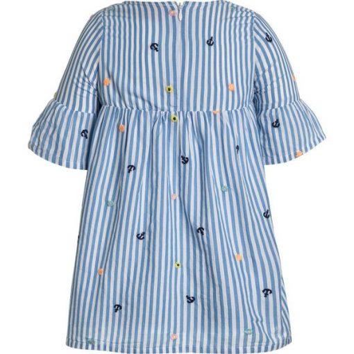 f769e64b8f s.Oliver RED LABEL KURZ Sukienka letnia blue - Niebieskie sukienki ...