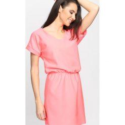 Sukienki: Koralowa Sukienka Heartbreak Warfare