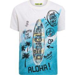 T-shirty chłopięce z nadrukiem: Desigual FREDDIE Tshirt z nadrukiem white