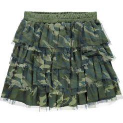 Mek - Spódnica dziecięca 128-170 cm. Szare minispódniczki marki Mek, z bawełny, rozkloszowane. W wyprzedaży za 119,90 zł.