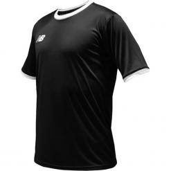 Koszulka treningowa - EMT6112BK. Czarne koszulki do piłki nożnej męskie New Balance, na jesień, m, z materiału. Za 89,99 zł.