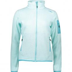 Kurtka polarowa w kolorze błękitnym. Niebieskie kurtki damskie marki CMP Women, z dzianiny. W wyprzedaży za 136,95 zł.