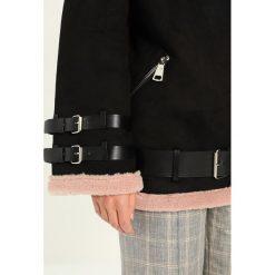 Bomberki damskie: Kengstar Kurtka przejściowa black/light pink