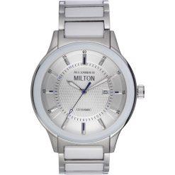 """Zegarki męskie: Zegarek kwarcowy """"Akmon"""" w kolorze biało-srebrnym"""