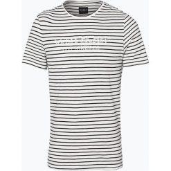 Guess Jeans - T-shirt męski, czarny. Szare t-shirty męskie marki Guess Jeans, l, z aplikacjami, z bawełny. Za 149,95 zł.